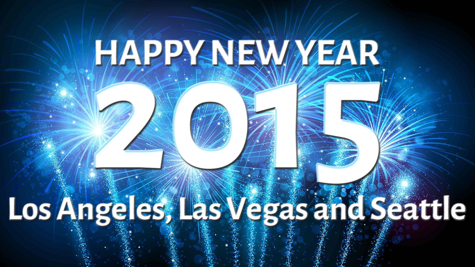 happy new year la las vegas seattle and san francisco